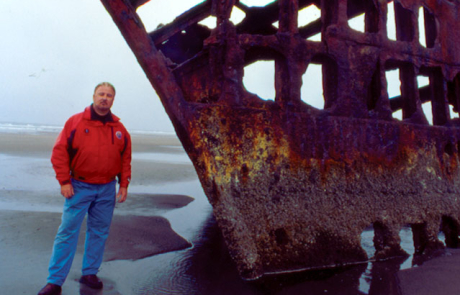 Peter Iredale Wreck, 2004