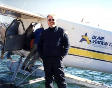 Jim Flying In Arctic
