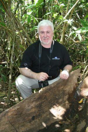 Jim W Dugout Canoe In The Jungle Small