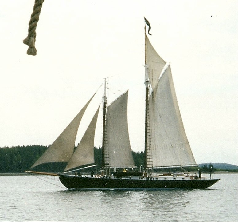 J&E Riggin two-masted schooner