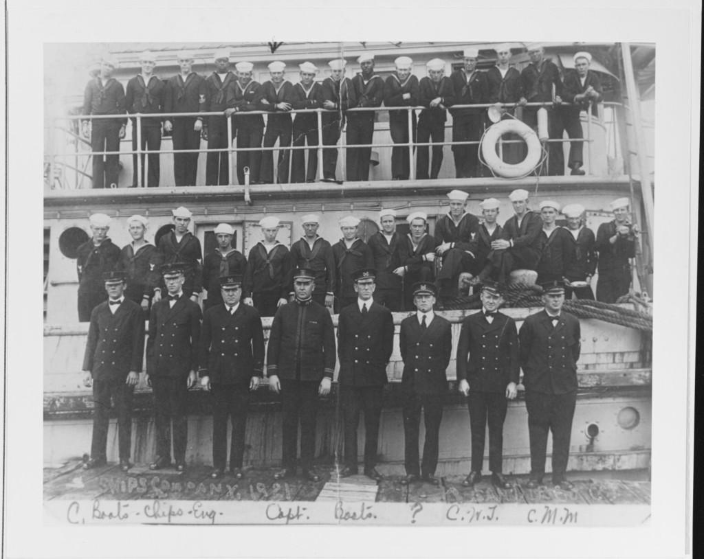 USS Conestoga crew