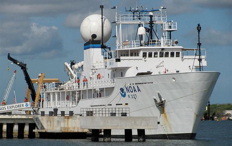NOAA ship Okeanos Explorer