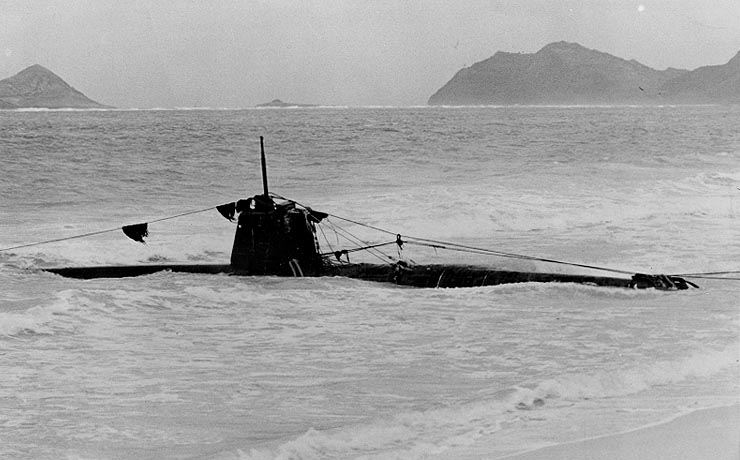 Ha.19 Japanese submarine