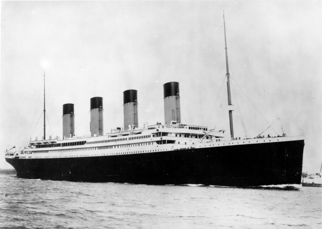 Photo of Titanic